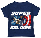 Toddler: Captain America: The Winter Soldier - Super Defense T-shirts