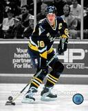 Pittsburgh Penguins Mario Lemieux 1995-96 Spotlight Action Photo