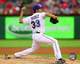 Texas Rangers Martin Perez 2013 Action Photo