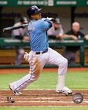 Tampa Bay Rays Yunel Escobar 2013 Action Photo
