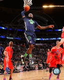 Miami Heat LeBron James 2014 NBA All-Star Game Action Photo