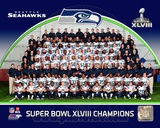 NFL Seattle Seahawks Team Photo Super Bowl XLVIII Champions Photo