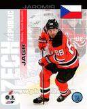 New Jersey Devils Jaromir Jagr- Czech Republic Portrait Plus Photo