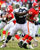 Dallas Cowboys Jay Ratliff 2009 Action Photo