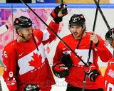 Team Canada Shea Weber & Drew Doughty 2014 Winter Olympics Action Photo
