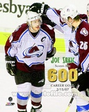 Colorado Avalanche Joe Sakic 600th NHL Goal February 15, 2007 Photo