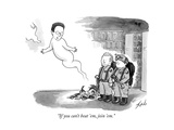 """If you can't beat 'em, join 'em."" - New Yorker Cartoon Premium Giclee Print by Tom Toro"