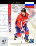 Washington Capitals Alex Ovechkin- Russia Portrait Plus Photo