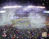 NFL Metlife Stadium after the Seattle Seahawks win Super Bowl XLVIII Photo