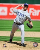 Tampa Bay Rays Grant Balfour 2009 Action Photo