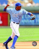 Kansas City Royals Alcides Escobar 2013 Action Photo