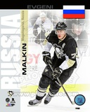 Pittsburgh Penguins Evgeni Malkin- Russia Portrait Plus Photo