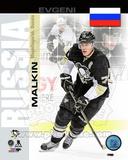 Pittsburgh Penguins Evgeni Malkin- Russia Portrait Plus Photo
