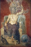 Italy, Naples, Naples Museum, from Pompeii, House of Diodcuri (VI 9, 6-7), Zeus Photographic Print by Samuel Magal