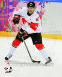 Team Canada Sidney Crosby 2014 Winter Olympics Action Photo