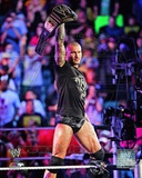 WWE Randy Orton with the WWE Heavyweight Championship Belt 2013 Action Photo