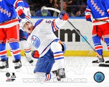Edmonton Oilers Nail Yakupov 2013-14 Action Photo