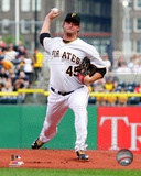 Pittsburgh Pirates Gerrit Cole 2013 Action Photo