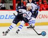Winnepeg Jets Andrew Ladd 2013-14 Action Photo
