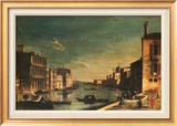 Grand Canal Venice, Looking East Posters by Francesco Fironi