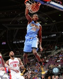 Denver Nuggets Kenneth Faried 2013-14 Action Photo