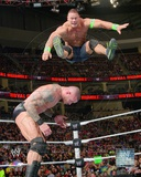 John Cena Vs. Randy Orton 2014 Royal Rumble Action Photo