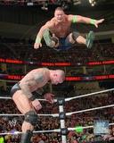 John Cena Vs. Randy Orton 2014 Royal Rumble Action Photo