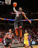 Miami Heat LeBron James 2013-14 Action Photo
