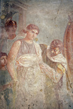 Italy, Naples, Naples Museum, from Pompeii, House of the Tragic Poet (VI 8, 3), Criseyde Departure Photographic Print by Samuel Magal