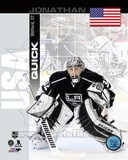 Los Angeles Kings Jonathan Quick - USA Portrait Plus Photo