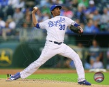 Kansas City Royals Yordano Ventura 2013 Action Photo