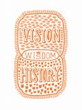 Venn by Pen: Vision, History, Wisdom Poster Posters af  Satchel & Sage