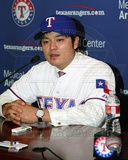 Texas Rangers Shin-Soo Choo 2013 Press Conference Photo