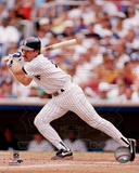 New York Yankees Wade Boggs Action Photo