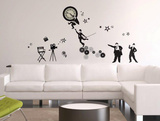 Silent Movies Wall Decal Sticker Wall Decal