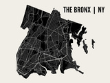 The Bronx Poster von  Mr City Printing