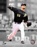 Pittsburgh Pirates Charlie Morton Game 4 of the 2013 NLDS Spotlight Action Photo