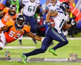 Seattle Seahawks Percy Harvin Super Bowl XLVIII Action Photo