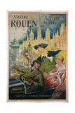 Visitez Rouen Poster Giclee Print by P. Bonnet