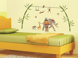 Elephant Fantasy Wall Decal Sticker Wall Decal