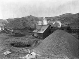 A Large Mining Facility Part of the Homestake Works Photographic Print by John C.H. Grabill