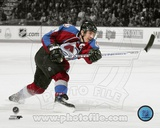 Colorado Avalanche Joe Sakic 2007-08 Spotlight Action Photo