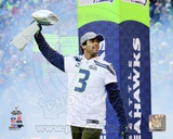 Russell Wilson Seattle Seahawks Super Bowl XLVIII Victory Parade Photo
