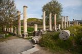 Turkey, Aphrodisias, Agora South,  Portico of Tiberius Photographic Print by Samuel Magal