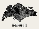 Singapur Kunst von  Mr City Printing