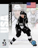 Los Angeles Kings Dustin Brown - USA Portrait Plus Photo