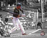 Pittsburgh Pirates Starling Marte 2013 Spotlight Action Photo