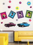 Pop Wall Decal Sticker Decalques de parede