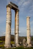 Turkey, Aphrodisias, Temple of Aphrodite, Columns Photographic Print by Samuel Magal