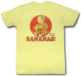 Curious George - Go Bananas T-shirts